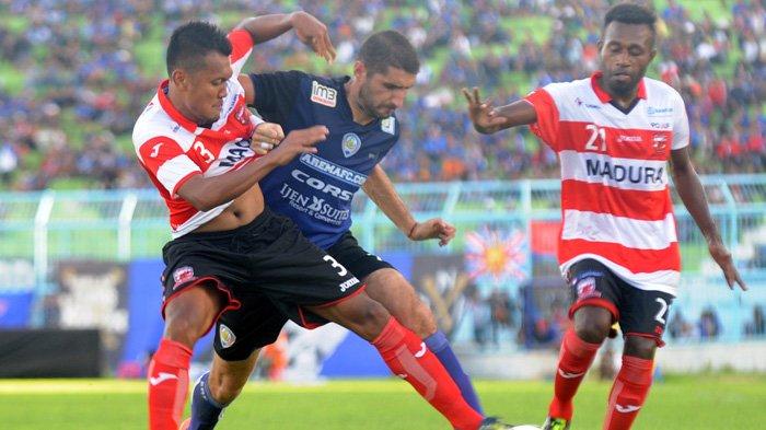 LIVE STREAMING Madura United Vs Arema FC - Liat Siaran Langsungnya Di Sini