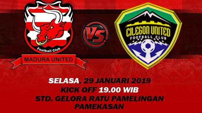 Sedang Berlangsung - Live streaming Jawapos TV Madura United vs Cilegon United Piala Indonesia 2018
