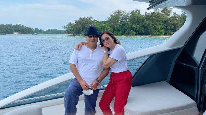 Maia Estianty Pamer Kemesraan dengan Irwan Mussry di Kapal Mewah: 'Suami Paling Baik Seluruh Dunia'