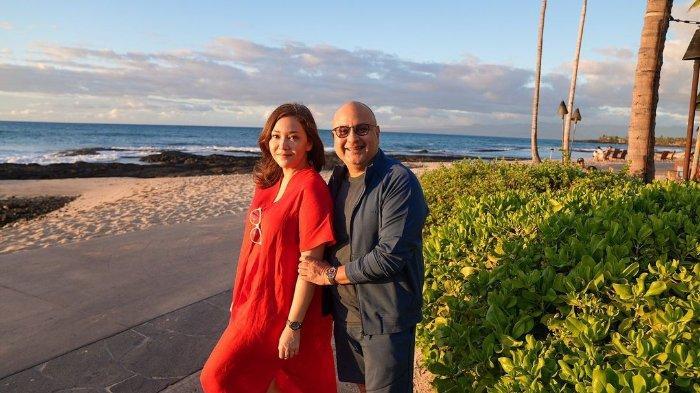Irwan Mussry Tak Malu Bawakan Tas Istri Saat Jalan-jalan di Amerika, Maia Estianty: 'Manisnya'