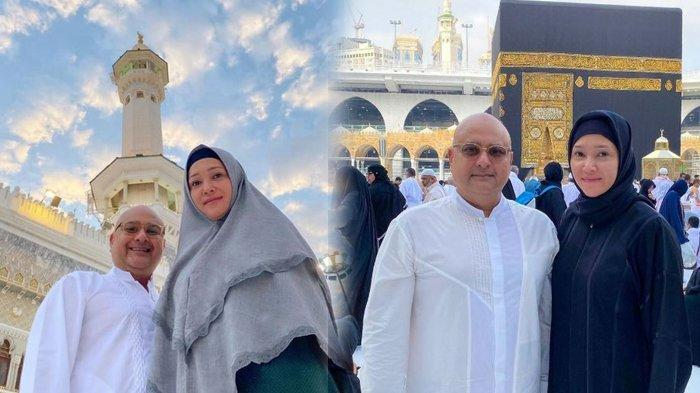 Umrah Bareng Maia Estianty, Irwan Mussry Ayah Tiri Al Ghazali Tuai Pujian Kocak Gara-Gara Pakai Ini