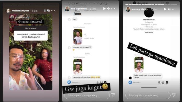 Maia Estianty disinggung Denny Sumargo soal penyebab perpisahan dengan Ahmad Dhani