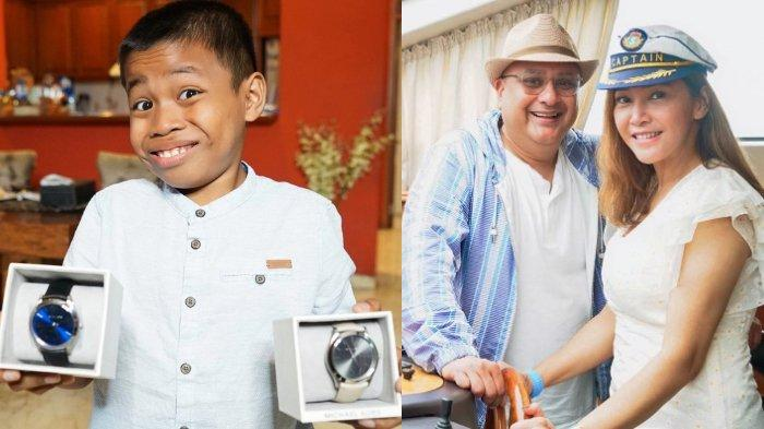 Ketemu Keluarga Maia Estianty, Bocah Viral Alwi Dapat Hadiah 2 Jam Tangan Mewah dari Irwan Mussry
