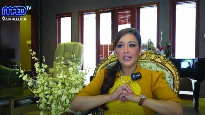 Maia Estianty menceritakan keadaannya saat berada di Kepulauan Seribu bertepatan dengan jatuhnya pesawat Sriwijaya Air SJ 182