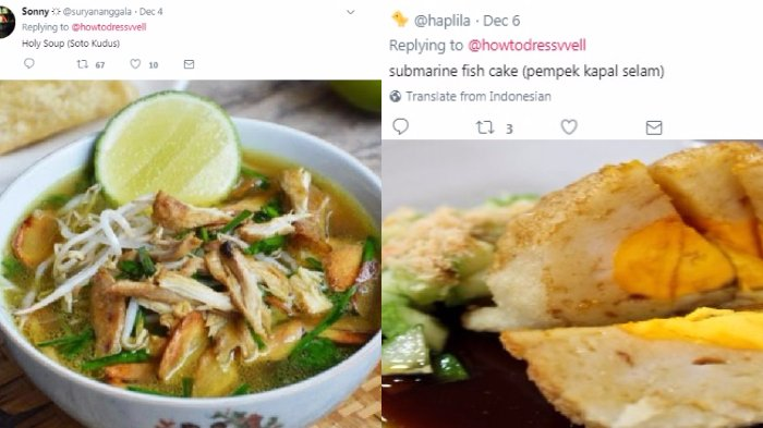 6 Terjemahan Bahasa Inggris Asal Asalan Makanan Indonesia Ini Bikin Ngakak So Hard Mana Favoritmu Halaman All Tribunstyle Com