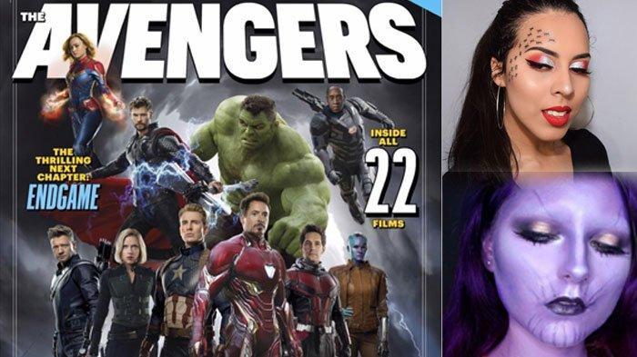 8 Inspirasi Make Up ala Avengers: Endgame, Infinity Gems, Ant Man hingga Thanos, Berani Recreate?