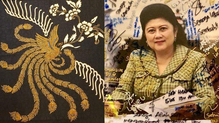 Makna Motif Kain Batik yang Disiapkan Ani Yudhoyono untuk Lebaran, Isyaratkan Firasat Kepergiannya