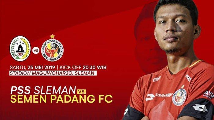 MALAM INI Prediksi & Live Streaming PSS Sleman vs Semen Padang - Live Indosiar Shopee Liga 1 2019