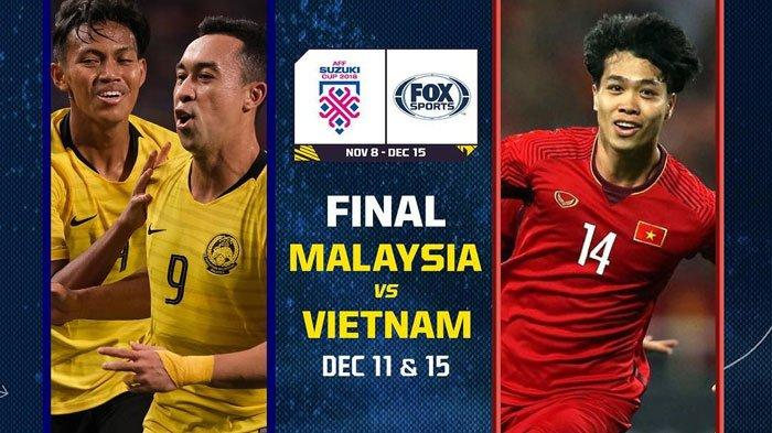 Live Streaming INews Malaysia Vs Vietnam Piala AFF 2018 Final Leg 2, Ini Modal Menang Vietnam