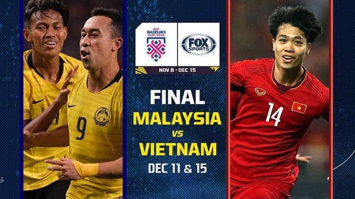 Live Streaming INews Malaysia Vs Vietnam Piala AFF 2018 Final Leg 2, Ini Modal Menang Vietnam