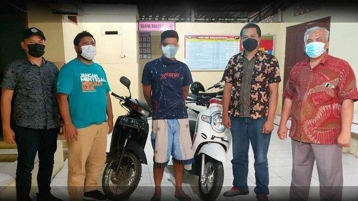 MALING Konyol, Nekat Curi Scoopy Tapi Motor Sendiri Malah Ditinggal di Lokasi, Gagal Kelabuhi Polisi