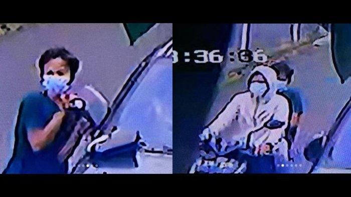 Spion mobil Ussy Sulistiawaty dan Andhika Pratama dicuri maling