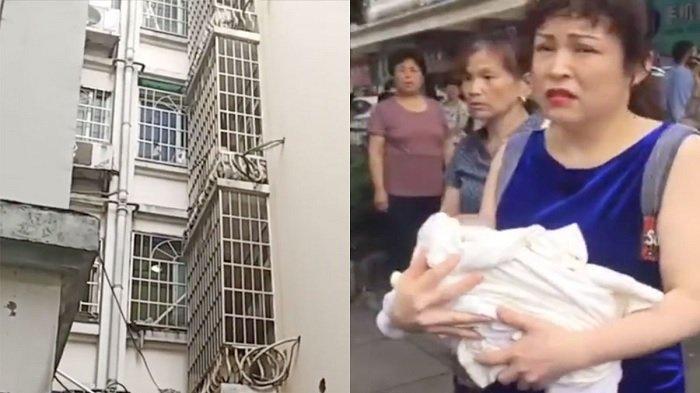 Malu Karena Melahirkan Diluar Nikah, Wanita Buang Anaknya yang Baru Lahir dan Ditemukan di Balkon