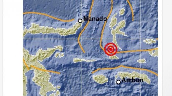 Setelah Talaud Sulut, Gempa Pagi Hari Ini Guncang Maluku Utara 5,1 SR, BMKG: Tak Berpotensi Tsunami