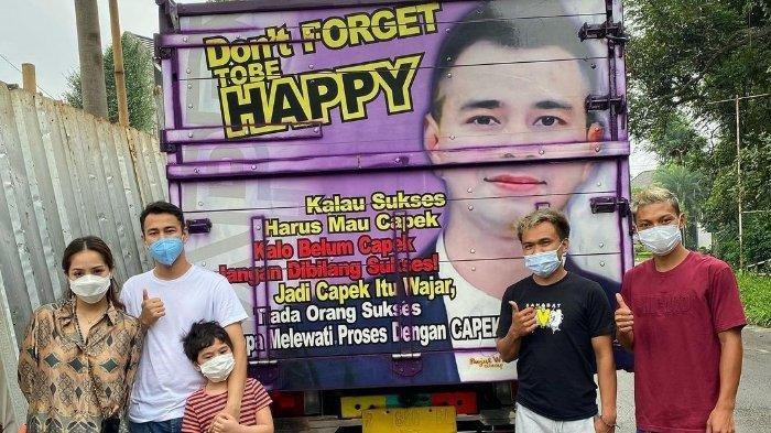TAJIRNYA Mamat Pemilik Truk Bergambar Raffi Ahmad Bikin Suami Nagita Syok, Bisnis Mahalnya Terungkap