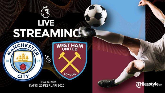 Live Streaming Mola TV Manchester City vs West Ham Liga Inggris 2020: Skuad Citizens Sedang Goyah
