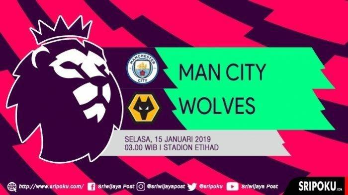 Live Streaming Pertandingan Manchester City vs Wolves Via MAXStream Selasa Dini Hari Jam 03.00 WIB