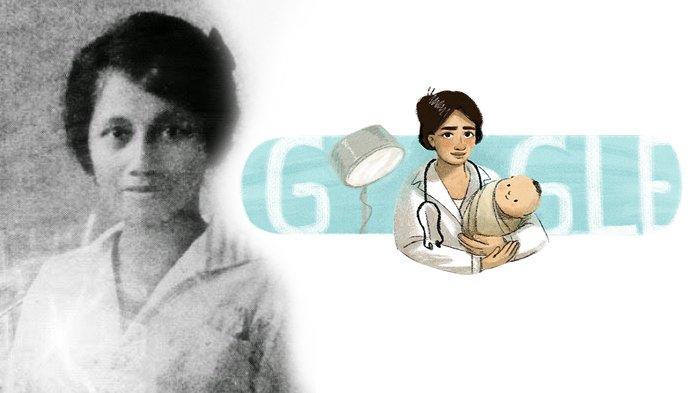 Marie Thomas, dokter wanita pertama Indonesia jadi Google Doodle, Rabu (17/2/2021).