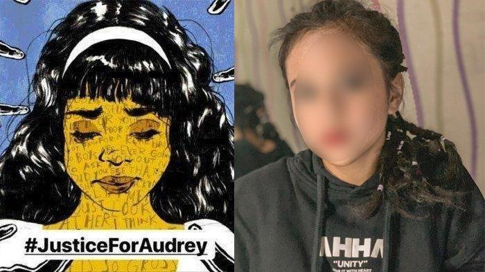Kontras, Begini Gaya Make Up Terbaru Audrey, Siswi SMP Sempat Viral Lantaran Kasus Bully