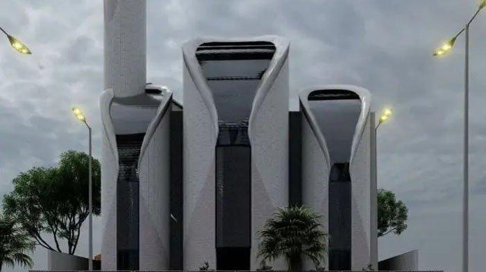 Gubernur Jawa Barat Ridwan Kamil menjadi arsitek pembangunan Masjid Syeikh Ajlin di Gaza, Palestina