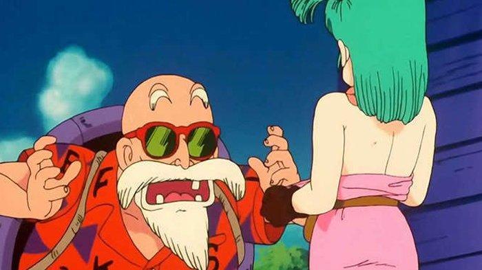 Master Roshi alias Kamesennin, karakter genit dalam anime Dragon Ball.