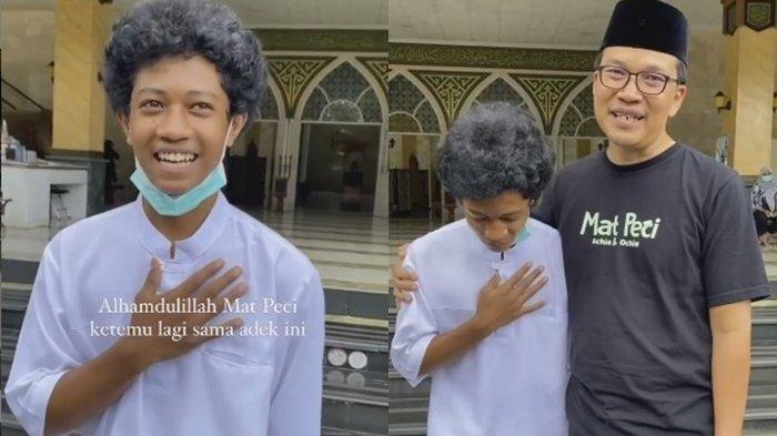 Mat Peci bertemu sosok Raja, pemuda yang sambut dan rapikan sandal jamaah masjid