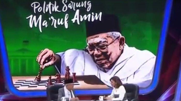 Mata Najwa Politik Sarung, Ini Jawaban Maruf Amin Saat Digoda Usia 17 Masih Labil Oleh Najwa Shihab