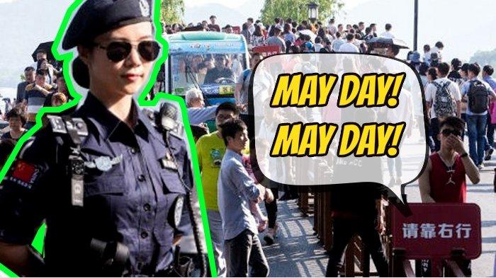 Amankan May Day, Pemerintah Kerahkan Satgas Super Cantik Biar Suasana Kondusif