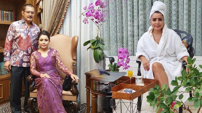 Mayangsari istri Bambang Trihatmodjo pamer foto pakai handuk