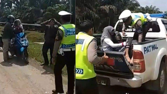 Kisah di Balik Jenazah Dibonceng Motor Bertiga Ditolong Polisi di Jambi, Ini Pesan Terakhir Almarhum