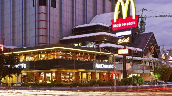 POPULER Sejarah Gerai McDonald's di Indonesia, Pertama Buka di Sarinah Kini Tutup setelah 29 Tahun