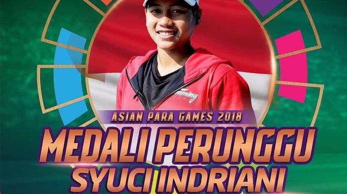 Indonesia Kembali Raih Medali di Asian Para Games 2018 dari Cabor Renang Gaya Bebas 200 M Putri