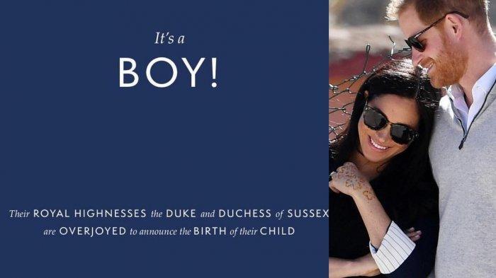 Anak Pangeran Harry dan Meghan Markle Terancam Tidak Diberi Gelar Kebangsawanan, Mengapa?