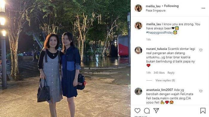 Meilia Lau dan Felicia Tissue.
