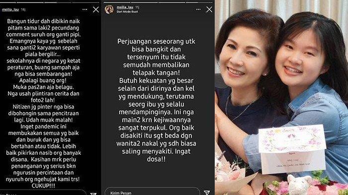 NAIK PITAM Ibunda Felicia Tissue Ngamuk-ngamuk Sindir Sosok Lelaki Pecundang hingga Piala Bergilir
