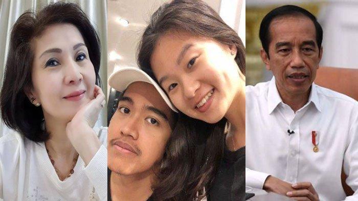 POSTING Foto Presiden Jokowi, Iriana & Kaesang, Ibunda Felicia Tissue Doakan Ini: Tuhan Tidak Tidur