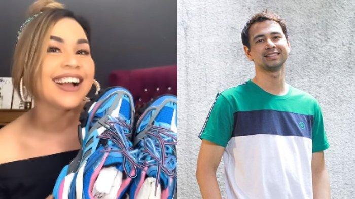 POPULER Unboxing THR Mewah, Melaney Ricardo Dapat 2 Pasang Sepatu Balenciaga dari Raffi Ahmad