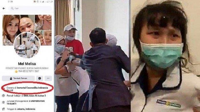 TAK Hanya Suami Ngaku Polisi, Istri Pemukul Perawat Siloam Ngaku Owner Perusahaan, Ternyata Bukan