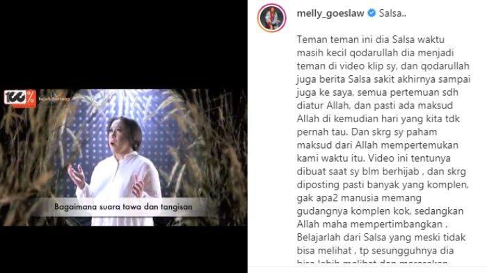 Melly Goeslaw unggah video klip tanpa hijab