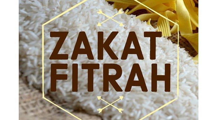 Zakat Fitrah.
