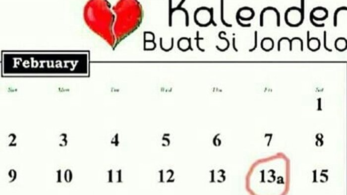 Meme Lucu Hari Valentine Buat Kamu Yang Jomblo Pasang Nih Di Foto Profil Dijamin