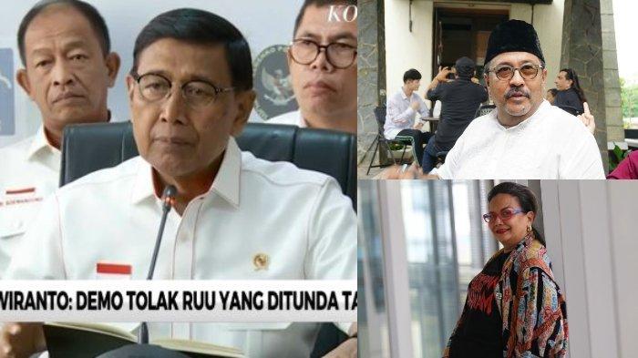 Menkopolhukam Wiranto Alami Penusukan, Rano Karno dan Christine Hakim Beri Tanggapan