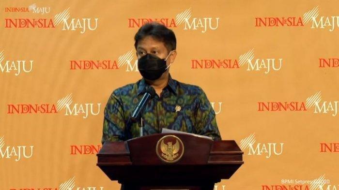 Menteri Kesehatan Budi Gunadi Sadikin.