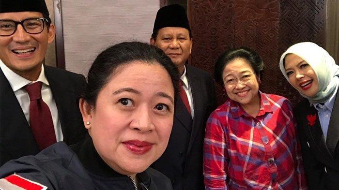 Meski Dukung Jokowi, Megawati Foto Bareng Prabowo-Sandi di Debat Pilpres 'Persaudaraan Tetap Jalan'