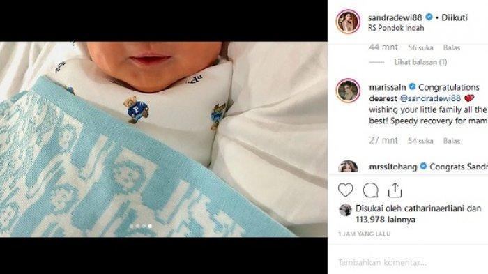 Sandra Dewi Umumkan Kelahiran Anak Kedua, Seperti Apa Wajah Mikhael Moeis Adik Raphael?