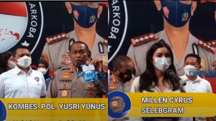 Millen Cyrus bebas dan kembali jalani rawat jalan di BNN Kota Jakarta Selatan