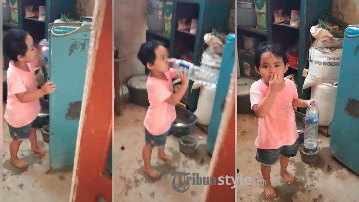 Minum Air dari Kulkas, Bocah Terciduk Batalkan Puasa, Ini Jawaban Polos dan Lucunya Saat Ditanya