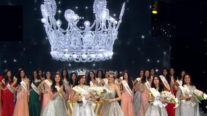 Daftar Lengkap 7 Pemenang Miss Indonesia 2019, Princess Mikhaelia Audrey dari Jambi Jawara Puncak!
