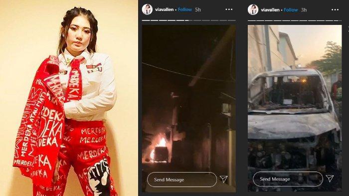 Pelaku Pembakar Mobil Via Vallen Dibekuk, Polisi Ungkap Oknum Pura-pura Gila & Bicara 'Ngelantur'