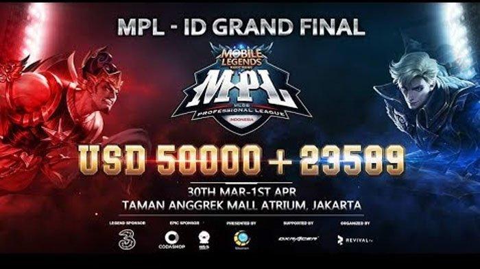 Live Streaming Final Mobile Legends Professional League Indonesia - Simak Aksi EVOS dan RRQ di Sini!